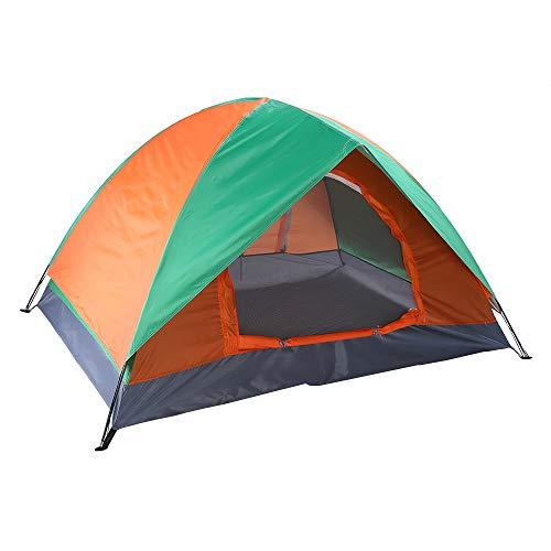 GEEDOOWIN Tienda de campaña para 2 personas, ligera, impermeable, resistente al viento, tienda de campaña instantánea de doble capa, para acampar, mochileros, senderismo al aire libre