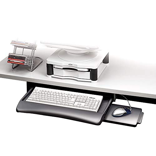 Fellowes 93804 Support pour Clavier Gris