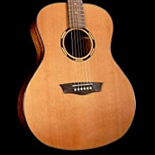 Washburn 6 String Acoustic-Electric Guitar, Right (WLO10SCE-O)