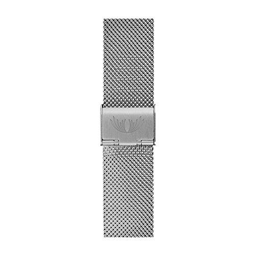Silver Milanaise Strap |Crowon Uhrenarmband Mesh-Edelstahl-Metallarmband || Armband Replacement Watch Strap