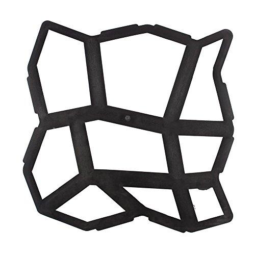 Pflasterform, DIY Gehweg Betonpflaster Gießform, Terrasse Garten Gehweg Schablone, Betonform Schalungsform für Naturstein Kopfstein und Pflastersteine, Wiederverwendbar