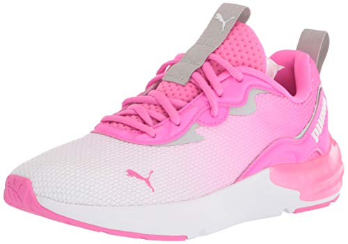 PUMA womens Cell Initiate Cross Trainer, Luminous Pink-gray Violet, 10 US