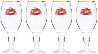 NEW - - Stella Artois Glass Coasters Vintage C2