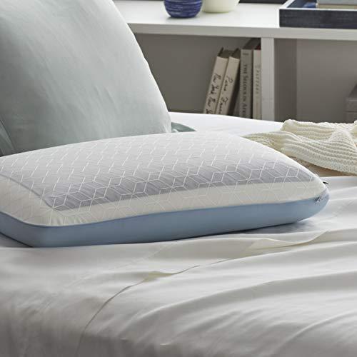 Sealy DuoChill - Cuscino refrigerante in memory foam, standard, colore: Bianco