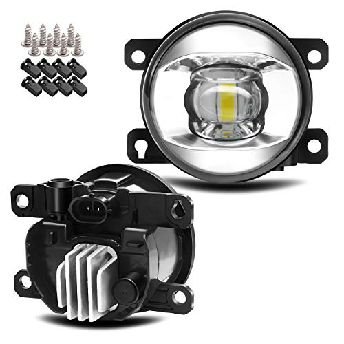 Updated LED Lens Fog Light Replacement for Ford 13-16 Fusion, 11-15 Explorer,...