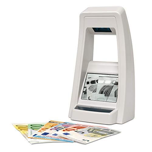 Safescan 235banconote false Tester rilevatore a infrarossi con video Controllato più banconote, Grigio