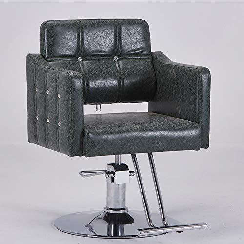 MOye Kappersstoelen, hydraulische kappersstoel, PU-leer, hydraulische kappersstoel voor SPA
