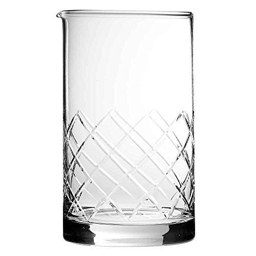 Japanese Mixing Glass 70cl - Hand Made Diamond Cut Cocktail Mixer Jug