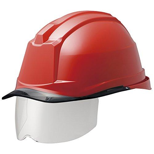 ミドリ安全 ヘルメット 一般作業用 電気作業用 スライダー面 SC19PCLS RA3 αライナー付 レッド/スモーク