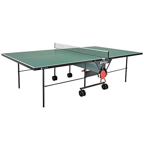 Sponeta Tischtennis S112E - Mesa de ping pong (outdoor, resistente a la intemperie, 4 mm),...