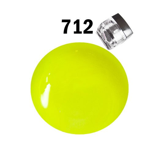 happy couleurs 712 Jaune Fluo