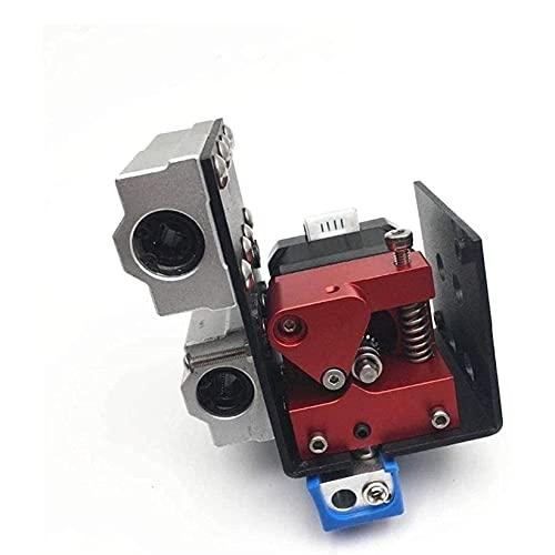 1set Right Aluminio Alimentador de engranajes Dual EXTRUDIADOR KIT EDUCTO DE ACTUALIZACIÓN DUAL DURANTE Extrusora adecuada for Bricolaje ANET A8 /WANHAA/MONOPRICE I3 3d Partes de la impresora de la im