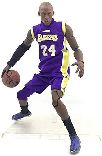 YUEDAI Figura de acción de 22 cm de la Serie NBA 24 de Kobe Bryant de Los Ángeles Lakers edición Limitada de colección: Figuras de la NBA