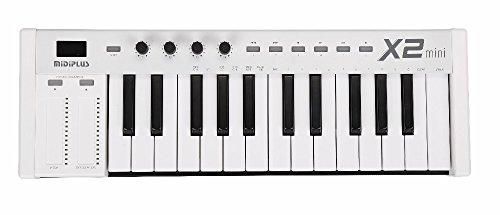 MIDIPLUS X2 mini - Mini controlador teclado 3,...