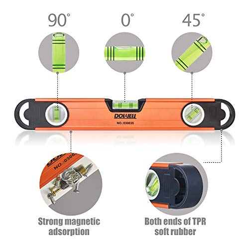 DOWELL Magnetic Level Torpedo Level 11