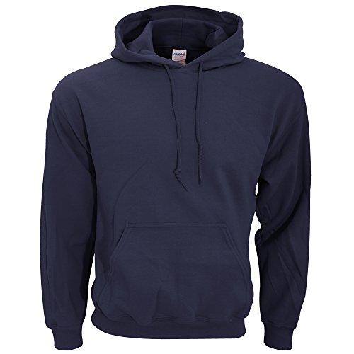 Gildan Heavy Blend Adult Unisex Hooded Sweatshirt/Hoodie (5XL) (Navy)