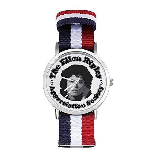 Alien The Ellen Ripley Apreciation Society - Reloj de pulsera trenzado con escala