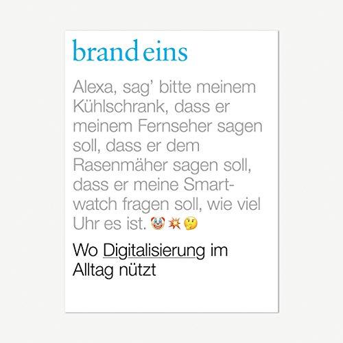 brand eins audio: Digitalisierung Titelbild