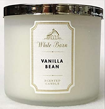 Bath & Body Works White Barn 3-Wick Candle in Vanilla Bean
