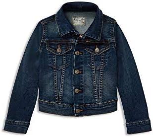 Ralph Lauren Polo Boys Cotton Denim Trucker Jacket 3/3T Navy