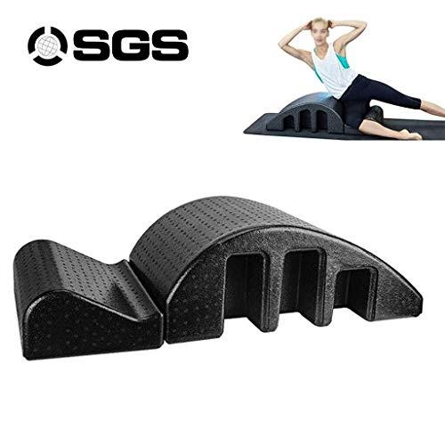 Pilates Wirbelsäulenkorrektor Pula Curved Massagetisch Pilates Arc Barrel Spine Alignment Spine Corrector Haltung hilft verbessern und stellt die Kurve - EPP-Material Einstellbare Kombination