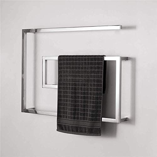 NBVCX Life Accessories Calentador de Toallas de baño Calentador de Toallas eléctrico Toallero eléctrico Curvo Estante de Secado de Toallas eléctrico para baño Mantenga la Toalla y la Ropa secas