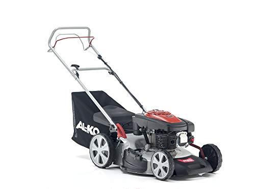 AL-KO Benzin-Rasenmäher Easy 5.10 SP-S (51 cm Schnittbreite, 2.3 kW Motorleistung, zentrale Schnitthöhenverstellung, Robustes Stahlblechgehäuse, mit Hinterrad-Antrieb, für Rasenflächen bis 1800 m²)