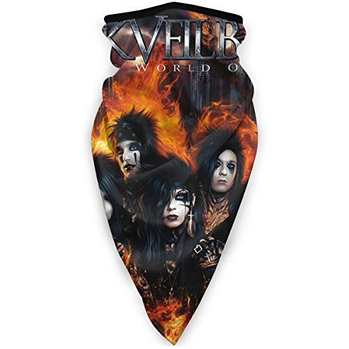Black Veil Brides Face Cover Fashion Windproof Sports Mask Multifunction Bandana Headwear Tube Mask Outdoor Balaclava