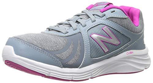 New Balance Women's 496 V3 Walking Shoe, Silver/Silver, 10.5 M US