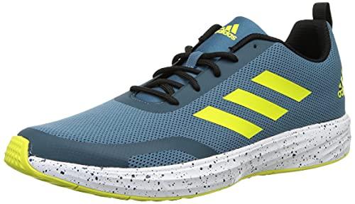 Adidas Men's Runstunner M ORBIND/WILTEA/CBLACK/ACIYEL Running Shoe-9 Kids UK (EY3165)