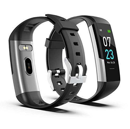 OOFAY Smartwatch,Fitness Armband Uhr Voller Touch Screen Fitness Uhr IP68 Wasserdicht Fitness Tracker Sportuhr Mit Schrittzähler Pulsuhren Stoppuhr Für Damen Herren Smart Watch