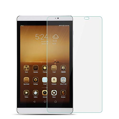 Protector de Pantalla de Tableta para Huawei MediaPad M2 8.0 Inch 2.5D 9H Dureza Película de Vidrio Templado antiarañazos de Alta definición de TAOYUNXI (Huawei M2 8 Inch(801W))
