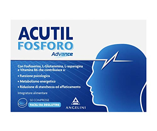 Acutil Fosforo Advance - 50 compresse da 250 mg, Totale: 12.50 g