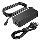 65W USB C AC Charger for Lenovo ThinkPad T470 T470S T490 T490S T495 T495S 4X20M26268 ADLX65YLC2A ADLX65YAC2A ADLX65YCC2A ADLX65YDC2A Model Laptop Type C Laptop Power Supply Adapter Cord