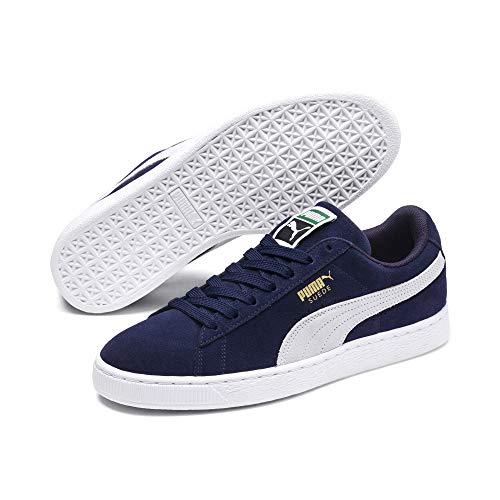 Puma Suede Classic +', Sneaker Unisex Adulto, Blu (Peacoat-White), 44.5 EU