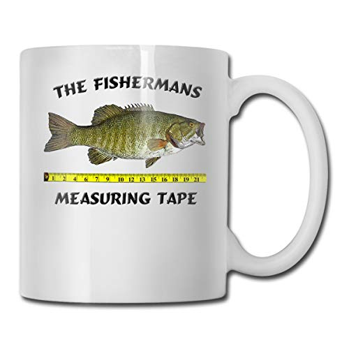 Fishermans Measuring Tape Cups White One Sizefunny Physiotherapy Gift/Present Tea/Coffee Ceramic Cup 11oz