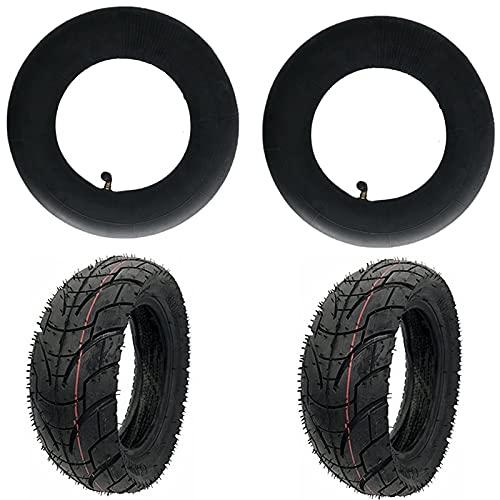 piaopiao 10 Pulgadas 10x3.0 80/65-6 neumáticos de Carretera Scooter eléctrico Espesar Ancho de neumático Inflable para Cero 10x KAABO Mantis Pieza neumática (Color : Black)