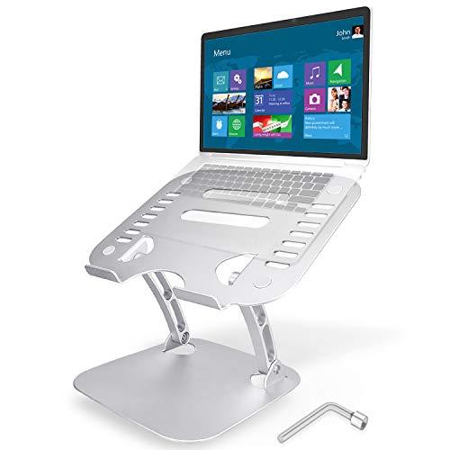 """TENSUN Supporto PC Portatile, Angolazione Regolabile Pieghevole Supporto Notebook, Supporto per Computer Ergonomico per Laptop per MacBook PRO/Air, dell XPS, HP, Lenovo Altri Laptop da 10-17,3"""""""