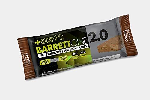 Barrett'one - +Watt - Box 20 Barrette Proteiche da 70g Cacao