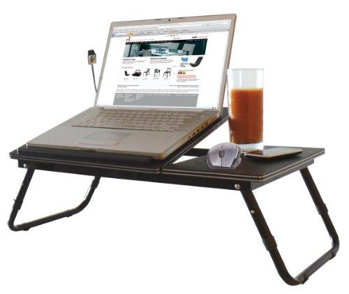 BEAT COLLECTION Table Pliante à Hauteur réglable avec Pied-Support pour Ordinateurs Portables