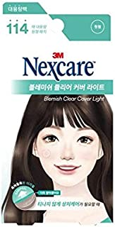 [New] 3M Nexcare Blemish Clear Cover Light Easy Peel 114 Patches/3M ネクスケア ブレミッシュ クリア カバー ライト イージー ピール 114パッチ入り [並行輸入品]