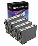 Speedy Inks Remanufactured Ink Cartridge Replacement for Epson T200XL120 ( Black , 4-Pack )