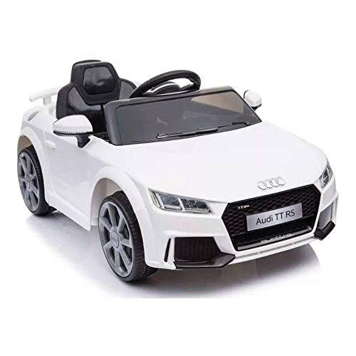 Carro Infantil Elétrico Audi TT RS (Branco) R/C 12V - Belfix