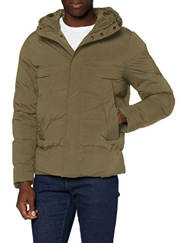 Tommy Hilfiger Hooded Stretch Bomber Chaqueta para Hombre