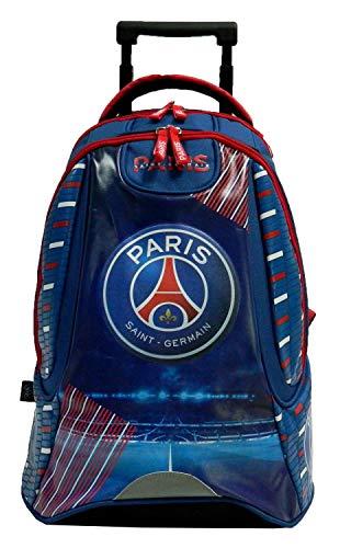 Paris Saint Germain: Mochila con ruedas curso 2015 2016  colección oficial del CF  longitud