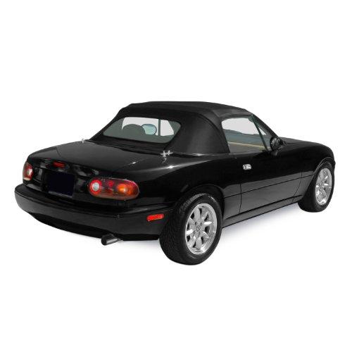 Sierra Auto Tops Mazda 1990-2005 Miata Convertible Top, Stayfast Canvas, Black