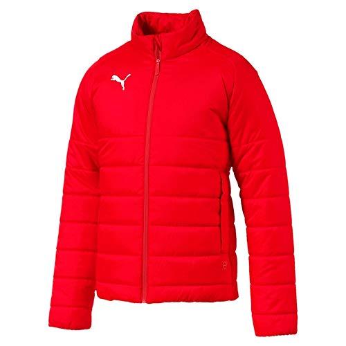 Puma Liga Casuals Padded Jacket, Giacca Uomo, Red White, S