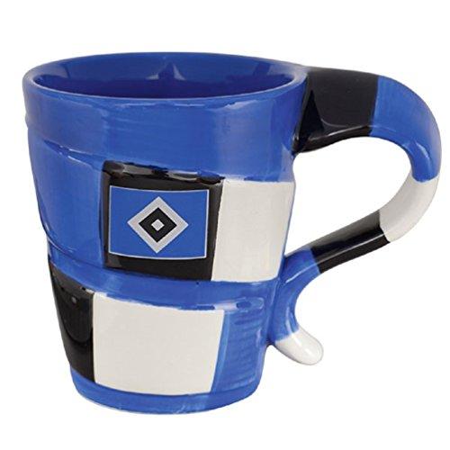 Hamburger SV Tasse - Schal - Kaffeetasse, Mug, Pott HSV- Plus Lesezeichen I Love Hamburg