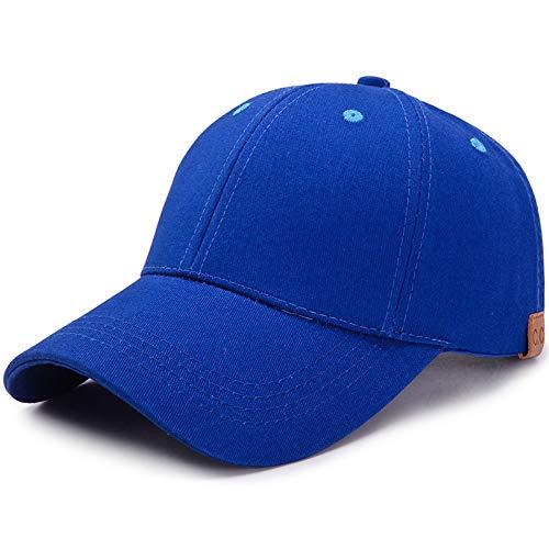 wtnhz Modische Kleidungsstücke Baseballkappe Pure Color Breathable Sunscreen Sonnenhut Rückenöffnung Cotton Hat Geschenk