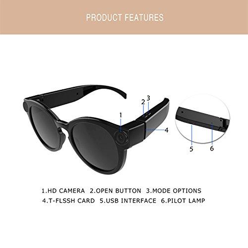 Gafas de Sol con la cámara K11 1080p WiFi Mini cámaras Micro Cámaras de Video HD de videocámaras con Lentes polarizadas